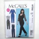 Miss Petite Jumpsuits 6 - 14 McCalls Sewing Pattern M7292