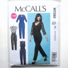 Misses Petite Jumpsuits 14 - 22 McCalls Sewing Pattern M7292