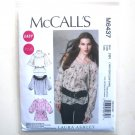 Womens Misses Tops Laura Ashley McCalls Sewing Pattern M6437