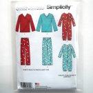 Pants Top Jumpsuit PJs XS S M L XL Simplicity Sewing Pattern D0552
