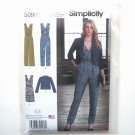 Jumpsuit Dress Jacket In K Designs 6 - 14 Simplicity Sewing Pattern S0990