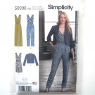 In K Designs Jumpsuit Dress Jacket 14 - 22 Simplicity Sewing Pattern S0990
