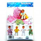 "Doll Clothes 15"" Carla Reiss Designs Simplicity Craft Sewing Pattern 0383"