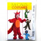 Childrens Toddlers Jumpsuits Costumes McCalls Sewing Pattern M6185