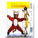 Infants Toddlers Animal Costumes McCalls Sewing Pattern M6181