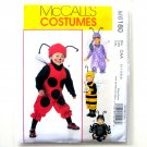 Infants Toddlers Bug Costumes McCalls Sewing Pattern M6180