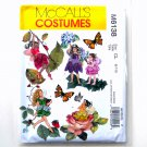 Girls Fairy Costumes McCalls Sewing Pattern M6138
