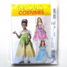 Girls Princess Costumes McCalls Sewing Pattern M6183
