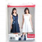 Misses Dresses 16 - 26 Threads Simplicity Sewing Pattern 1103