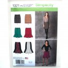 Misses Skirts 12 - 20 In K Designs Simplicity Sewing Pattern 1321