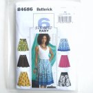 Misses Skirts 6 Easy Size 14 - 20 Butterick Pattern B4686