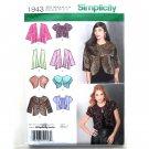 Misses Jackets 6 - 14 Karen Z Designs Simplicity Sewing Pattern 1943