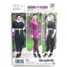 Misses Tunic Pants Mimi G Style 18 20 22 24 26 Simplicity Sewing Pattern 1019