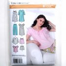 Misses Sleepwear Nightgown L - XL Easy Simplicity Sewing Pattern 1561