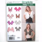 Misses Vest Jacket Easy Karen Z Simplicity Sewing Pattern 2183