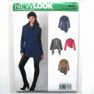 Misses Draped Jacket Simplicity New Look Sewing Pattern 6417