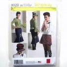 Misses Blouse Top Skirts Karen Fleisch Simplicity Sewing Pattern 8020