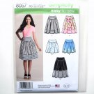 Misses Skirts 6 - 14 Simplicity Easy Sewing Pattern 8057