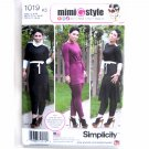 Misses Tunic Pants Mimi G Style 8 10 12 14 16 Simplicity Sewing Pattern 1019