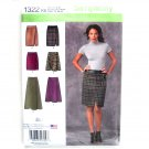 Misses Mock Wrap Skirts 8 - 16 Karen Z Designs Simplicity Sewing Pattern 1322