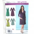 Misses Maternity Pullover Dress 8 - 16 Simplicity Sewing Pattern 1360