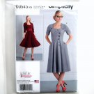 Misses Button Front Dresses 8 - 16 Simplicity Sewing Pattern D0545
