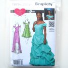Misses Womens Special Occasion Dresses 4 - 12 Simplicity Pattern 1875