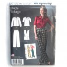Womens Misses Vintage 1940s Sportswear 6 - 14 Simplicity Sewing Pattern D0102