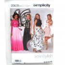 Misses Special Occasions Dresses 4 - 12 Simplicity Sewing Pattern D0639