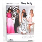 Misses Womens Special Occasions Dresses 12 - 20 Simplicity Sewing Pattern D0639