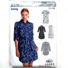 Misses Easy Shirt Dress 8 - 20 New Look Simplicity Sewing Pattern D0616