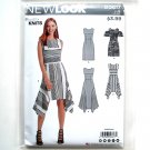 Misses Dresses 8 - 20 New Look Simplicity Sewing Pattern D0617