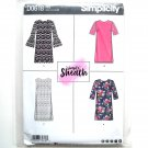 Misses Womens Dresses 14 - 22 Simplicity Sewing Pattern D0618