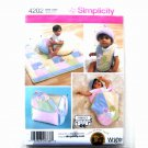 Baby Accessories Quilt Bib Diaper Bag Wrights Shirley Botsford Designs Simplicity Pattern 4202