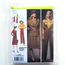 1940s Retro Misses Blouse Skirt Pants Jacket Plus Size Simplicity Pattern 3688