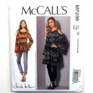Misses Cold Shoulder Tunic Dress McCalls Sewing Pattern MP236