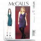 Misses Side Pleat Dresses Nicole Miller McCalls Sewing Pattern MP251