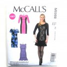 Misses Princess Seam Dresses McCalls Sewing Pattern M6988