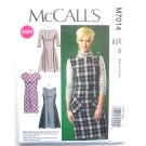 Misses Dresses Easy McCalls Sewing Pattern M7014