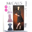 Misses Petite Flare Dresses Easy McCalls Sewing Pattern M7015