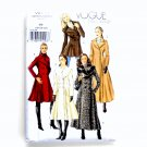 Coat Misses Size 18 - 22 Vogue Easy Sewing Pattern V8346