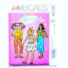 Sassy Girl Tops Skirt Pants 7 - 10 Easy McCalls Sewing Pattern M5134