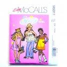 Sassy Girl Top Dress Pants 7 - 10 Easy McCalls Sewing Pattern M5311