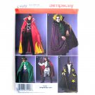 Mens Halloween Costumes Wizard Pirate Vampire L - XL Simplicity Pattern 2499