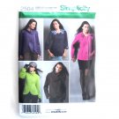 Misses Jackets 16 - 24 Simplicity Sewing Pattern 2504