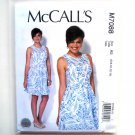 Misses Womens Summer Dress 6 8 10 12 14 McCalls Sewing Pattern M7088