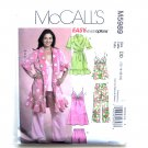 Misses Robe Top Nightgown Pants 12 14 16 18 McCalls Sewing Pattern M5989