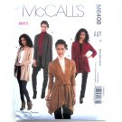 Misses Jackets Out Of Print Nancy Zieman McCalls Sewing Pattern M6408