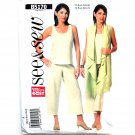 Misses Top Pants 4 6 8 10 12 14 See Sew Butterick Pattern B5170