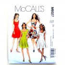 Miss Petite Dresses 12 - 20 McCalls Sewing Pattern M6027